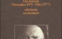 """Peter Handke """"Das Gewicht der Welt"""", Suhrkamp, ISBN: 3518370006"""